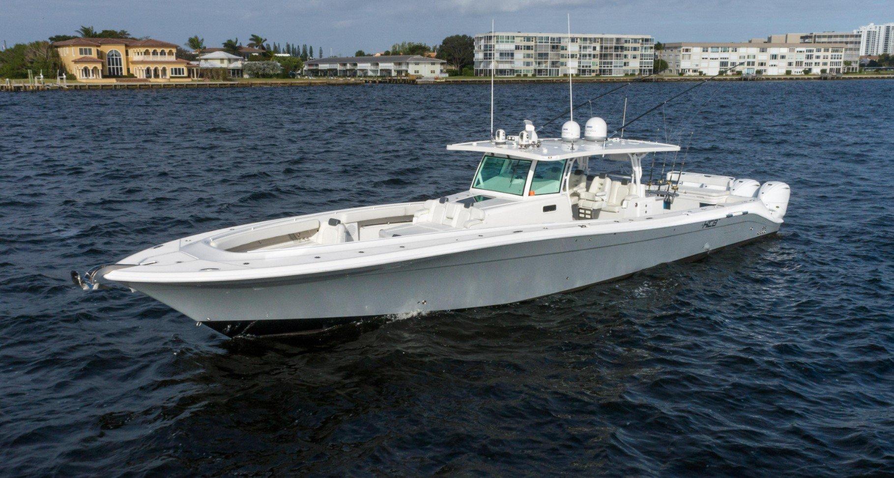 53' HCB Open highspeed Fishing Motor Yacht ''Milling Around''